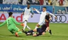 بني ياس يحقق الفوز الاول بالدوري الاماراتي