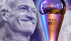 ديشان يفوز بجائزة افضل مدرب لعام 2018