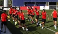 لاعبو اتلتيكو مدريد يخضعون لمزيد من الفحوصات في البرتغال