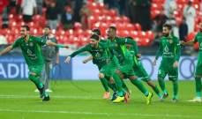 كأس الخليج العربي الإماراتي: شباب الأهلي دبي الى النهائي بتخطي الجزيرة