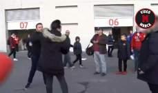 فيديو تعرض مشجع ريال مدريد للضرب عقب نهاية الديربي