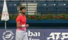 خاشانوف خارج منافسات بطولة دبي للتنس على يد باسيلاشفيلي