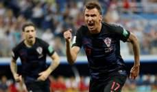 ماندزوكيتش يدخل سجلات كرواتيا التاريخية !