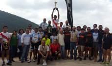 دراجات هوائية: ضو، بعلبكي وضناوي ابطال سباق طارق ابو الذهب