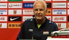 مدرب سوريا : ودية الصين فرصة لتجربة بعض اللاعبين