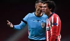 اتلتيكو مدريد يتلقى ضربة قوية قبل ديربي مدريد