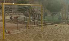الكرة الشاطئية: البلوز يتجاوز كفرملكي والريجي يتخطى الاكوا مارينا