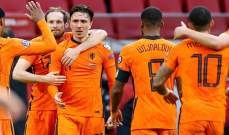 بيرغيس: سعيد جدا بهدفي الاول مع منتخب هولندا