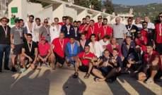 الدورة الدولية الثانية في كرة الماء: اللقب لايران والساتيليتي الوصيف