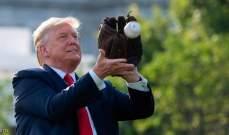ترامب يلعب البيسبول