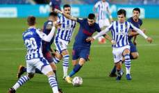 الليغا: اتلتيكو مدريد يخطف الصدارة بفوز ثمين امام سوسييداد وتعادل هويسكا وليفانتي