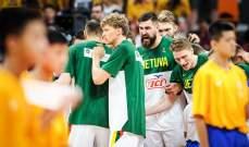 كأس العالم لكرة السلة: ليتوانيا تتجاوز كندا وتتصدر المجموعة