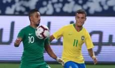 سالم الدوسري : اظهرنا امكانياتنا امام منتخب البرازيل