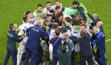 ديل بييرو: إيطاليا تغلبت المصنف الأول عالمياً لترد على الجميع