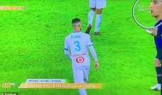 فيديو يظهر دي ماريا وهو يبصق على لاعب مارسيليا غونزاليس
