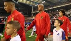 كومباني يغيب عن تدريبات المنتخب البلجيكي