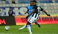 الدوري التركي: بيشكتاش يستعيد الصدارة بعد الفوز على ايرزوروم