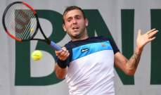 ايفانز يحمل ديوكوفيتش مسؤولية تفشي كورونا بين لاعبي التنس