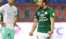 تقليص عقوبة إيقاف أليمان لاعب الاتفاق إلى 3 مباريات