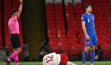 ماغواير لم يظلم  ولوكاكو يستحق ركلة الجزاء في دوري الأمم الأوروبية