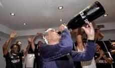 ساري يعبّر عن فرحته بعد الفوز بلقب الدوري الإيطالي