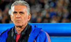 كيروش: جايمس وفالكاو يعدان مرجعية بكرة القدم الكولومبية