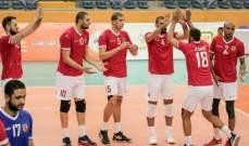 طائرة الأهلي والزمالك الى نصف نهائي البطولة العربية