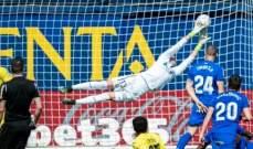 الليغا: فياريال يعزز مركزه السادس بفوز متأخر امام خيتافي