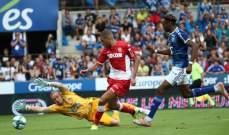 الدوري الفرنسي: موناكو يفشل بتحقيق فوزه الاول ويتعادل مع ستراسبورغ