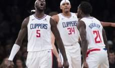 NBA: كليبرز يقلب النتيجة أمام نيتس وفوز جديد لروكتس