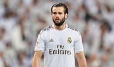 الاشتباه باصابة مدافع ريال مدريد بفيروس كورونا