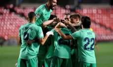 ريال مدريد بحاجة لفوز واحد  من اجل ازاحة برشلونة عن العرش