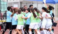 خاص :السبب لعدم احتفال لاعبات الارز  بالاهداف المسجلة في مرمى فلسطين