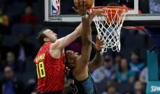 NBA : شارلوت هورنيتس يفوز على أتلانتا هوكس