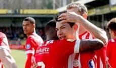 الدوري الهولندي : فوز ايندهوفن وخسارة اياكس