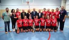 بطولة لبنان للسيدات في الكرة الطائرة  اللقب للمتين ...والقلمون الوصيف