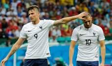 جيرو يعلّق على استبعاد بنزيما عن صفوف المنتخب الفرنسي