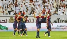 الدوري الاماراتي : الوحدة يتخطى بني ياس برباعية