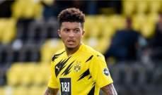 سانشو يرفض ربط تراجع مستواه بخطوة الإنتقال إلى مانشستر يونايتد