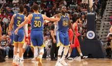 NBA: الخسارة الرابعة للبيليكانز والفوز الاول لغولدن ستايت واريرز