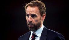 ساوثغايت يكشف عن القائمة الاولية لانكلترا في يورو 2020