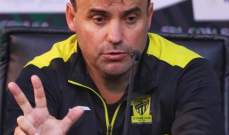 مدرب اتحاد جدة : قدمنا مباراة كبيرة امام النصر