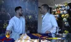 ميسي : لا استطيع ان اتخيل نيمار لاعبا في ريال مدريد