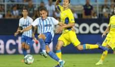 ريال مدريد يستهدف التعاقد مع مهاجم ملقا بالمجان