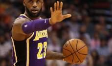 ليبرون يصبح سادس افضل مسجل في تاريخ NBA