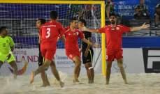تصريحات مدرب فلسطين قبل مواجهة لبنان في بطولة اسيا للكرة الشاطئية
