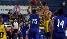سلة لبنان: الرياضي يحسم اللقاء الاول امام الشانفيل في سلسلة النهائي
