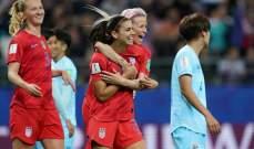 مونديال السيدات 2019: فوز قياسي للأميركيات يجعلهن في مرمى الانتقادات
