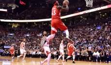NBA: رابتورز يسقط شيكاغو وخسارة جديدة لهيت