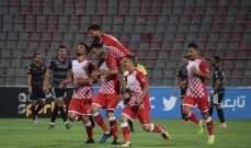 كأس محمد السادس: شباب الاردن يتخطى النجم الساحلي